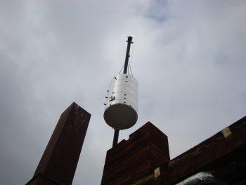Einbringung Schichtwassertank Moser