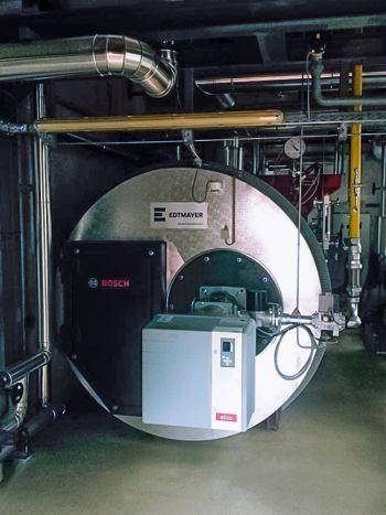 Dampfkesselanlage Brauerei Schrems