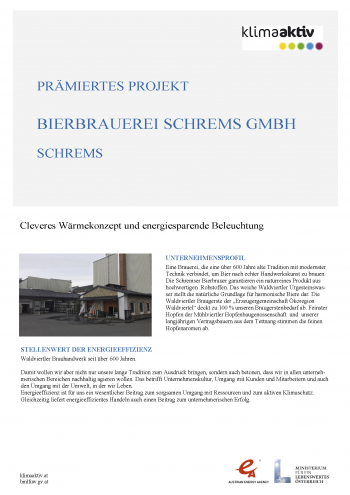 BestPractice Klimaaktiv Brauerei Schrems Seite 1