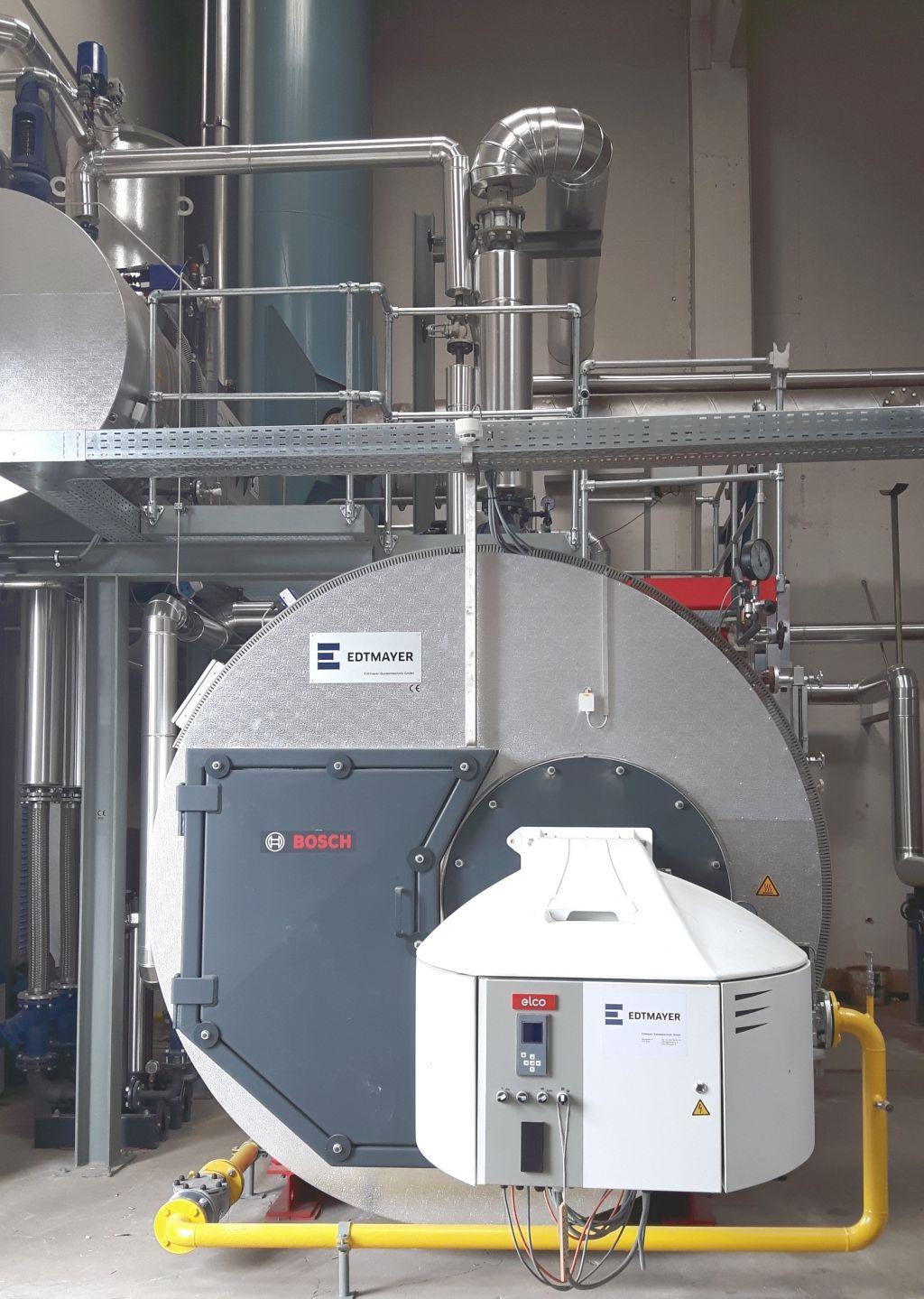 Energieeffiziente Dampfkesselanlage - Otto Wirl GmbH | Edtmayer ...