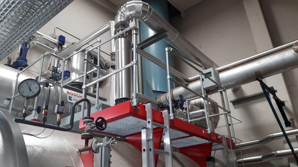 Energieeffiziente Dampfkesselanlage - Otto Wirl GmbH   Edtmayer ...