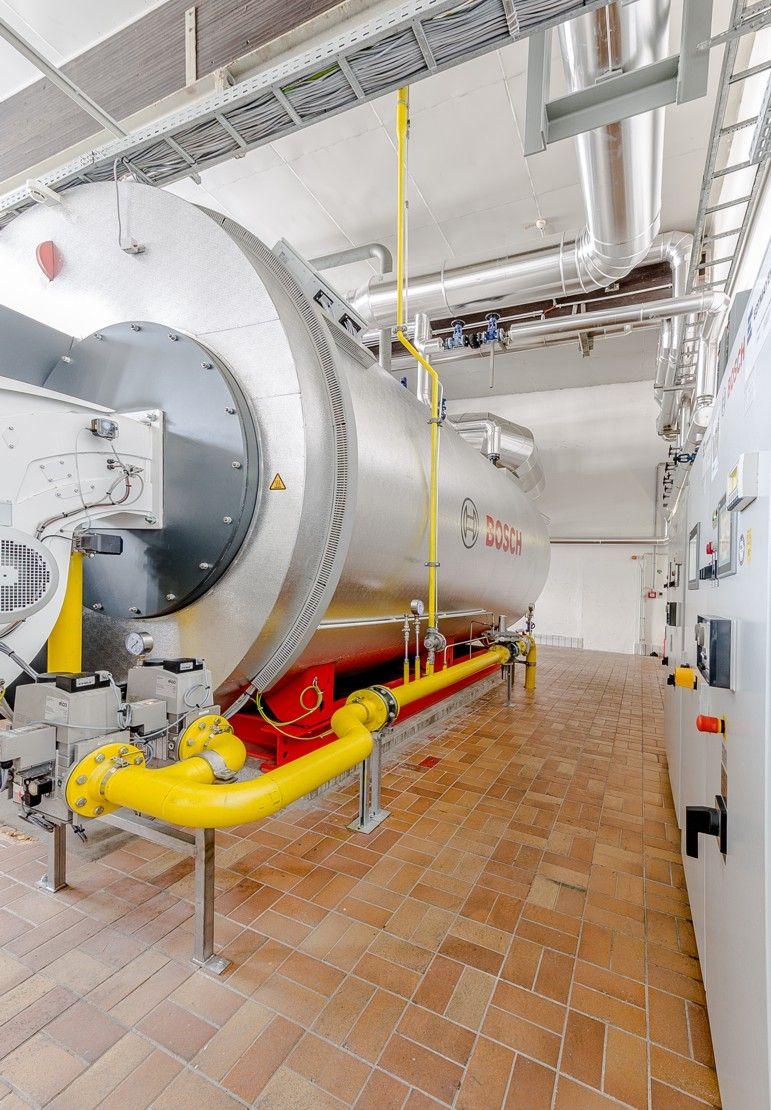 NÖM, Dampfkesselanlage | Edtmayer Systemtechnik GmbH