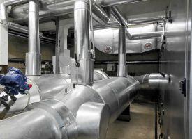 BHKW Rauchgasverwertung