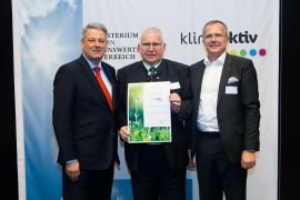 Preisverleihung - Franz Ramler, Ing. Michael Wallner