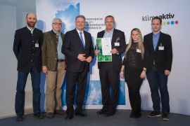 Gerald Ramler, Walter Schmatelka, Bundesminister Andrä Rupprechter, Michael Wallner, Suzana Ognjanovic, Paul Mörth