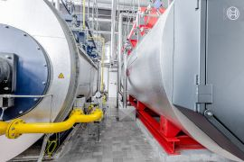 Dampfkessel Loos und Bosch