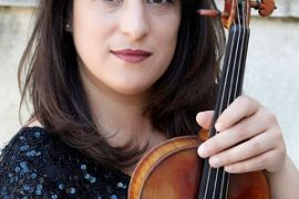 Eliza Schmidt und Violine