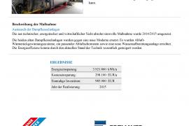 Energieoptimierung - Projektbeschreibung Seite 2